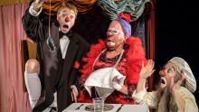 Clowner och fickspöken på höstens andra Familjelördag