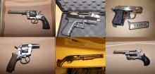 Firearms and ammunition seized across London