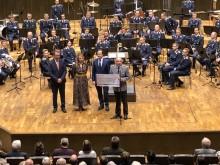 Benefizkonzert der Bundeswehr im Gewandhaus - Bärenherz wird mit großzügiger Spende bedacht