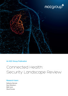 NCC Group Connected Health whitepaper