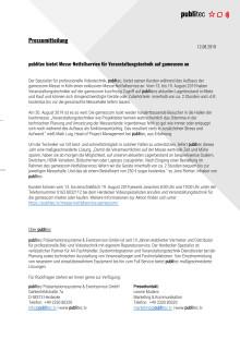 publitec bietet Messe-Notfallservice für Veranstaltungstechnik auf gamescom an