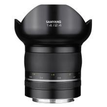 Samyang bringt lichtstarkes 14 mm Superweitwinkel-Objektiv der Serie XP für Canon EF und Nikon F Vollformat-Kameras