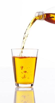 No more off-taste in transparent beverages