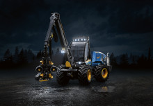 World premiere for a new harvester from Rottne