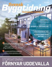 Nya numret av Svensk Byggtidning nr 6 2019 ute nu!