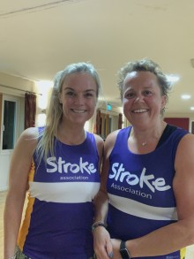 Local women join the resolution for the Stroke Association