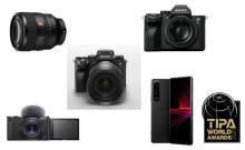 Sony nagrajen s kar petimi nagradami TIPA 2021