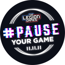 The Legion Games Announces #PauseYourGame In Honour Of Armistice Day