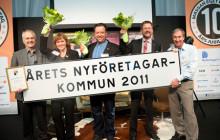 Grattis Vara, Årets Nyföretagarkommun 2011!