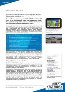 Zuverlässige LKW-Beifahrer: Garmin dēzl 780 LMT-D EU und dēzlCam 785 LMT-D EU
