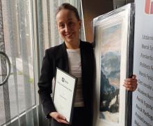 Årets verneombudspris gikk til stråleterapeut Ester Geitrheim