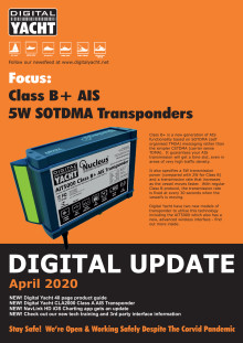 Digital Yacht Update April 2020 Edition Available Now