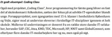 Danmarks Vækstråd anbefaler