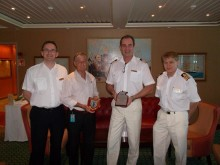 Fred. Olsen Cruise Lines' flagship Balmoral  makes her maiden call into Darwin, Australia