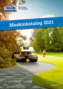Trejons Maskinkatalog för 2021 är här!