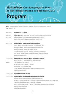 Program 10 december