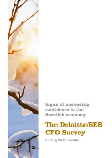 The Deloitte/SEB CFO Survey - Spring 2013