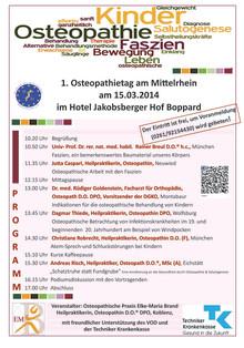 Erster Osteopathietag in Boppard am Mittelrhein