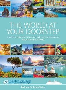 'The World At Your Doorstep' with Fred. Olsen Cruise Lines' free door-to-door transfers in 2017/18