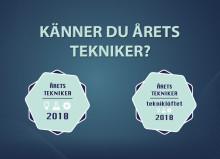 Nu börjar sökandet efter Årets Tekniker och Årets Tekniker – Tekniklöftet 2018!