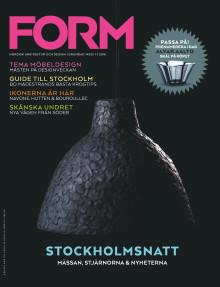 Nya numret av Form: Möbelmässan, stjärnorna och nyheterna