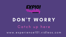 Did you miss the EXP101 events?