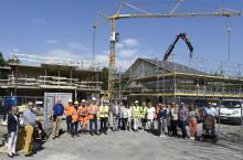 De nya bostadsrätterna i Hovås tar form
