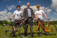 BT staff gearing up for charity cycling challenge