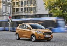 Nový Ford KA+ nabízí mimořádnou prostornost, hospodárnost i radost z jízdy