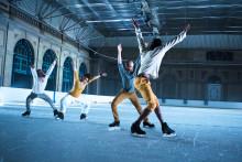 Vass dansupplevelse på skridskor i Umeå
