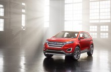 Ford Edge Concept viser ny stor SUV for Europa