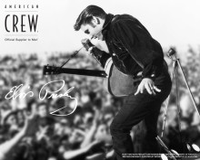 American Crew + Elvis = Sant