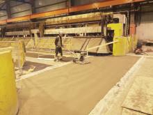 Hydro rehabiliterte produksjonslokaler med Mapei-produkter
