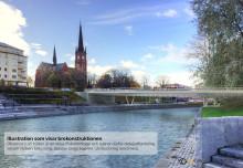 Bättre trafikflöde med ny bro i Sundsvall