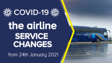 the airline: service changes
