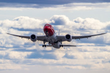 Flere passagerer og fyldte langdistancefly for Norwegian i september