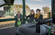 Boost to gardeners' green credentials at Southern's Angmering station
