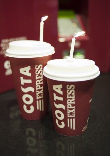 Costa Express celebrates 1st anniversary with 1000th machine
