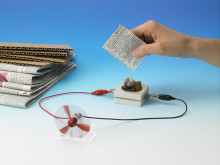 Old Christmas cards = electricity? With the bio battery from Sony, that reality might not be too far away
