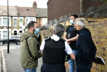 Man arrested during proactive operation attended by Commissioner and Mayor