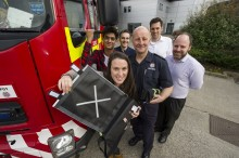 Students have designs on fire safety