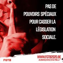 Lettre d'informations 3 : DROIT DE GRÈVE À LA SNCB / LES POUVOIRS SPÉCIAUX AU TEMPS DU COVID-19