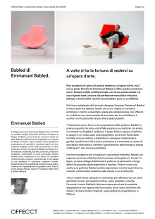 Offecct Press release Babled by Emmanuel Babled_IT