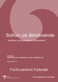 Forskningsrapport - Solrum på äldreboende