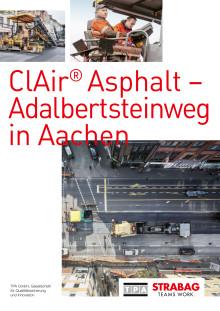 ClAir® Asphalt – Adalbertsteinweg in Aachen