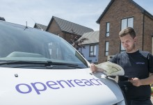 Openreach drops price of full fibre broadband  infrastructure to new homes by 75 per cent