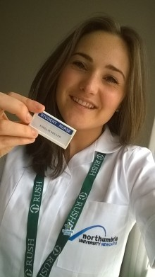A seat at the top table for Northumbria nursing student
