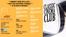Classic Cinema Club comes to the Longfield Suite