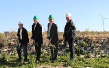 Baubeginn am Herzstück der Fernwärmeversorgung im neuen Paderborner Wohnquartier