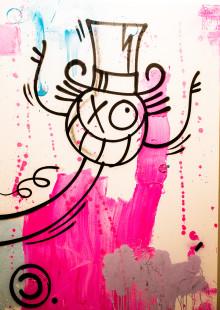 """Han klottrade ner hela Paris och blev berömd - Streetkonstnären""""Mr. A"""" till Stockholm"""